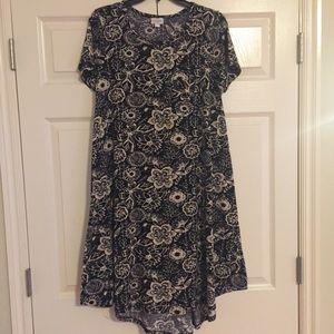 LuLaRoe Carly Floral Print Dress